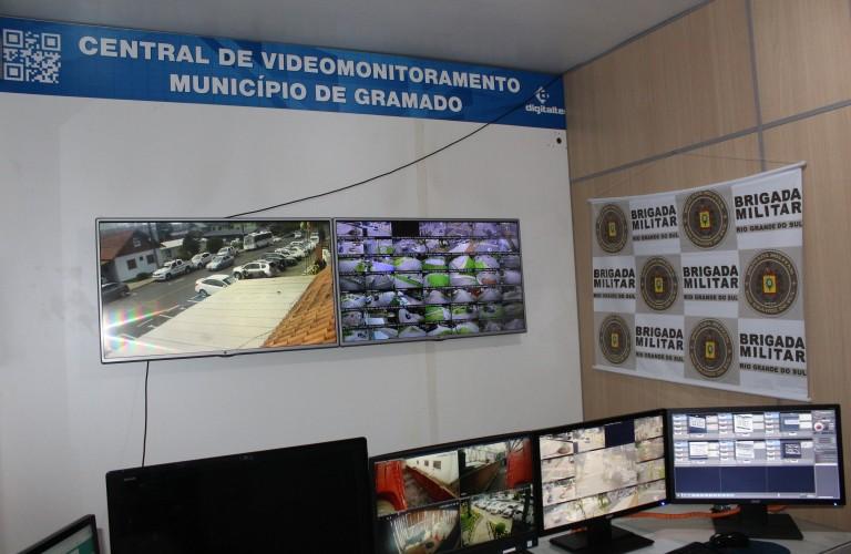 Ampliado o parque de videomonitoramento em Gramado
